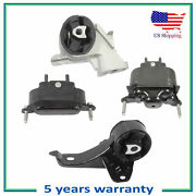 4pcs Engine Motor And Trans Mount For 2007 Pontiac G6 Except Convertible 3.5l