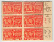 E13 15c Motorcycle Mint Never Hinged Plate Block Of Six Pre-first Day [834054]