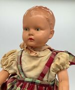 Minister Of Trade And Industry Award Toy/ Walking Doll Masudaya Celluloid 1952