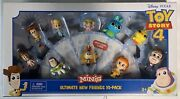 Disney Pixar Toy Story 4 Minis Ultimate New Friends 10-pack Mini Figures New
