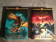 The Mark Of Athena And The Lost Hero By Rick Riordan New York Times 1 Best