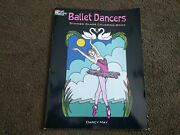 Rare Ballet Dancers Stained Glass Coloring Book By Darcy May Isbn 0486451836