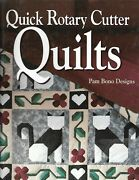 Quick Rotary Cutter Quilts Quilting Pattern Instruction Book