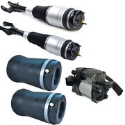 For 11-16 Jeep Grand Cherokee Wk2 Air Suspension+compressor Pump+spring Bags