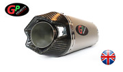 Gp Velocity Motorcycle Exhaust 51mm Universal Slip On End Can Exhaust Silencer