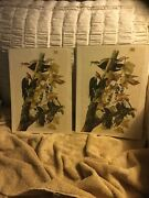 2 Vintage Lithographs Pileated Wood Pecker 1966 New York Historical Society
