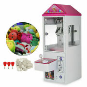 Mini Claw Crane Machine Plush Candy Toy Grabber Catcher Charge Play Mall 110v