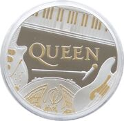 2020 Great Britain Music Legends Queen Andpound2 Silver Proof 1oz Coin Box Coa