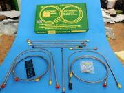 New Brake Pipe Set Pipe Kit Triumph Spitfire 1976-1980 Lhd Cars Made In Uk