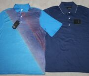 New Mens Lot Of 2 Greg Norman Golf Polo Shirts Short Sleeve Play Dry - Small