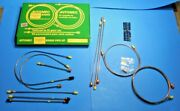 New Brake Pipe Set Pipe Kit Triumph Spitfire 1967-1975 Lhd Cars Made In Uk