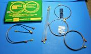 New Brake Pipe Set Pipe Kit Triumph Spitfire 1962-1966 Lhd Cars Made In Uk
