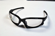 Split Jacket Black Silver Ghost Text Transitions Clear Grey To Black Lens