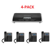 Business Phone System By Grandstream Bundle Package W/ 1 Year Free Service