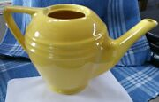 Pacific Pottery Hostess Ware Canary Yellow Teapot 5-cup California - No Lid