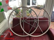 For Cheoy Lee 44 Dia 50and039and039- 54and039and039 Leather Steering Wheel Cover Diff Colors