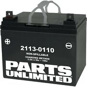 Parts Unlimited - U1-32 - Agm Factory Activated Maintenance-free Battery Yamaha
