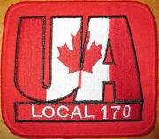 Ua Canada Local 170 Bc Plumbers Pipefitters Stemfitters Welders Union Patch