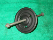 1964 1/2 1965 Mustang Fastback Coupe Cnv Orig Spare Wheel Hold Down Bolt And Plate