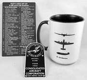 Consolidated B-24 Liberator 3-piece Grouping Vintage Wwii Aviation Grp-0136
