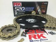 Suzuki Gsxr750 1993-95 Rk 520 Racing Gxw X-ring Chain And Sprockets Kit + Colors