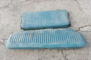 Original 1973-76 A-body Dodge Dart Plymouth Duster Folding Rear Seat Assembly