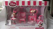 New Disney Store Minnie Mouse Beauty Shop Play Set- Includes 9 Pieces