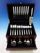 Flower Lane By Oneida Sterling Silver Flatware Set For 8 Service 39 Pieces