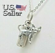 Chihuahua Ashes Necklace || Pet Cremation Jewelry || Chi Memorial Keepsake Urn