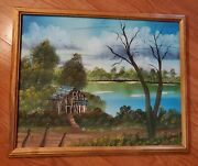 Bob Ross Style Roadside Barn Painting Book 11 Episode 12 Vintage Hand Painted