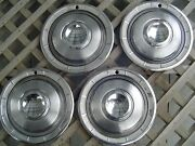 Vintage 1960 Chrysler New Yorker Fifth Ave Hubcaps Wheel Covers Dodge Plymouth