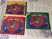 Set 3 Looney Tunes Comic Ball Trading Cards Albums 1990 Upper Deck Bugs Bunny Fl