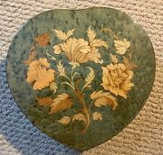Reuge Large Heart Shaped Music And Jewelry Box Romeo And Juliet A Time For Us Italy