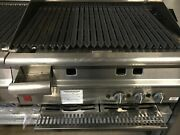 Falcon 3 Burner Commercial Grill Excellent Condition