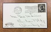 610 Fdc Tied By Marion Ohio Sep 1 1923 George Linn 1st Cachet