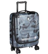 Victorinox Spectra 2 Exp Dual Access Black Camo Carry-on Spinner Luggage 22