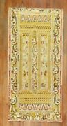 Antique Decorative Turkish Melas Oushak Column Rug Size 2and03911and039and039x5and0395and039and039