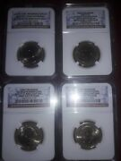 2 Errors 2 First Day Issue +1 Coins George Washington 1 Dollars Graded By Ngc