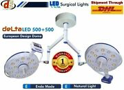 New Ceiling Dual Ot Light Operation Theater Surgical Led Lamp Surgery Ot Lights