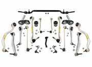Lemforder 20-piece Front And Rear Suspension Control Arm Kit For Bmw E39 540i M5