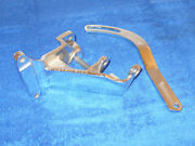 1966 1967 Ford Mustang Mercury Cougar Chrome 289 Thermactor Smog Pump Brackets