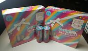 Set Of 2 Popteenies Party Surprise Box Playset And 2 Surprise Pop Poppers All New