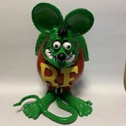Funko Rat Fink Doll Figure Classic Color Ed Roth Character Goods Toy Hobby