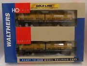 Walthers 932-23846 Gold Line Cushion Coil Car 2-pack Milwaukee Road Milw New