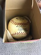 Vintage Nos In Box Wilson Official Pee Wee League Baseball