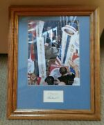 1960 Norman Rockwell Jfk Democratic Convention Autographed Piece