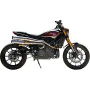 Sands Cycle - 550-0950a - Grand National 22 High Exhaust System Indian Ftr 1200