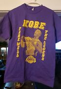 Actual Shirt Purchased During Kobe Bryantand039s Retirement Game In Los Angeles...
