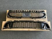 New Original Kia Front Bumper Grille Stinger Gt 2018-2019 Upper And Lower Grilles