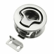 Aisi 316 Stainless Steel Boat Hatch Latches Turning Lock Lift Handle 2and039and039